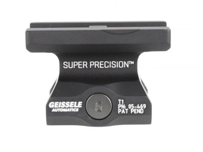 GEISSELE Super Precision® - Lower 1/3 T1 Series Optic Mounts (Also fits H1, H2, T2 & COMP M5)