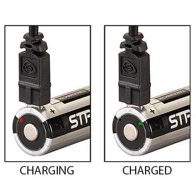 Streamlight 18650 USB Rechargeable Lithium Ion Batteries (Pack of 2)