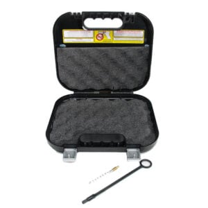 GLOCK GUN CASE NEW VERSION BRUSH/ROD & Speedloader