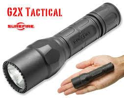 Surefire G2X Tactical 600 Lumens LED Black Polymer